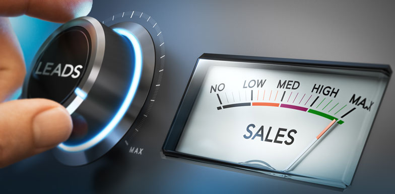 Leads and sales performance indicators